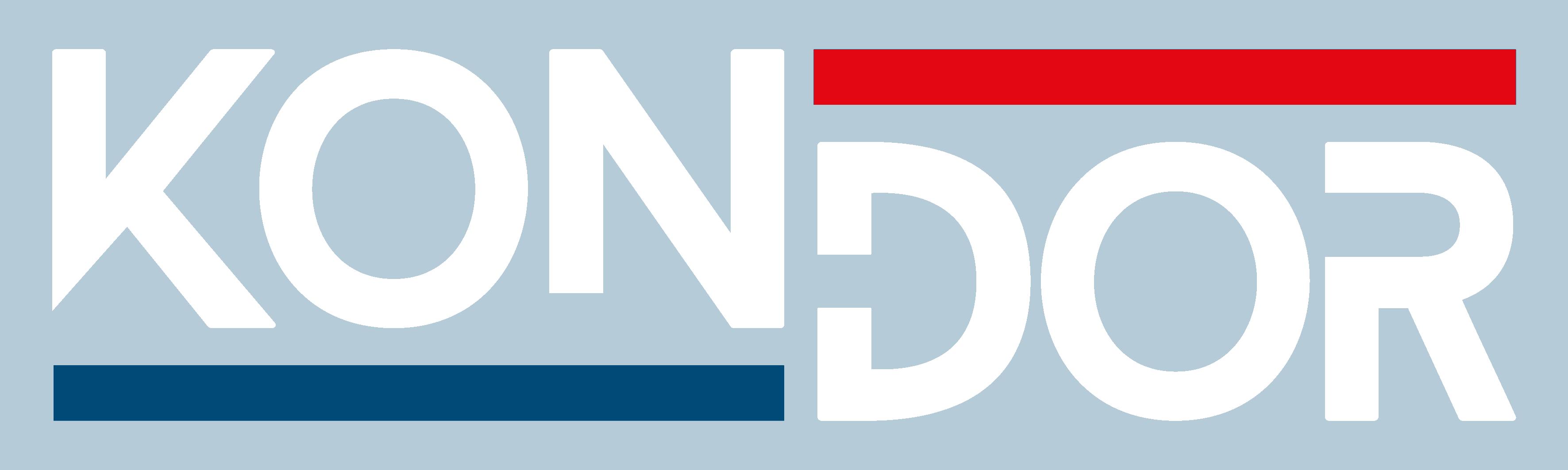 KONDOR Holding logo fehér